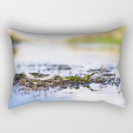 Down in Waihopai River Rectangular Pillow