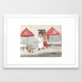 Mouse on the House Framed Art Print