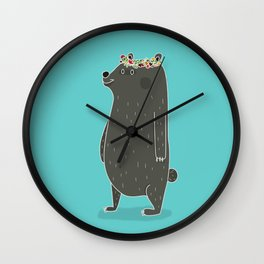 L'ours couronné Wall Clock
