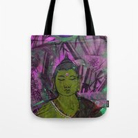 queer Tote Bags featuring Queer Buddha ~ Success II by Jamila