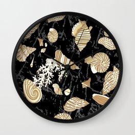 sea shells Wall Clock