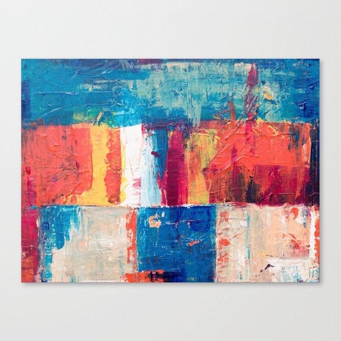 Colormix Canvas Print