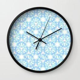 Dancing Blue Koi Wall Clock