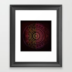 Composition Shields 1 Framed Art Print