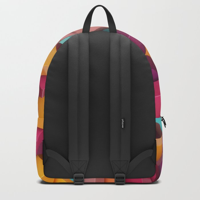 Colourful Pieces Backpack