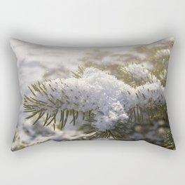 Christmas Snowflakes Rectangular Pillow
