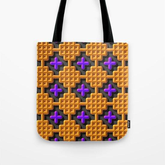 """""""Cross Stitch"""" Tote Bag"""