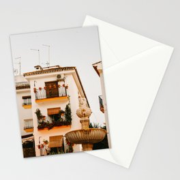 Old town Marbella by night | Spain travel photography | Summer feeling wanderlust | Fine art print  Stationery Cards