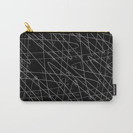 Monochrome Storm Carry-All Pouch