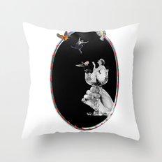 Tipsy Hoop Dream Throw Pillow