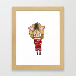 Nekoma Kitten! Framed Art Print