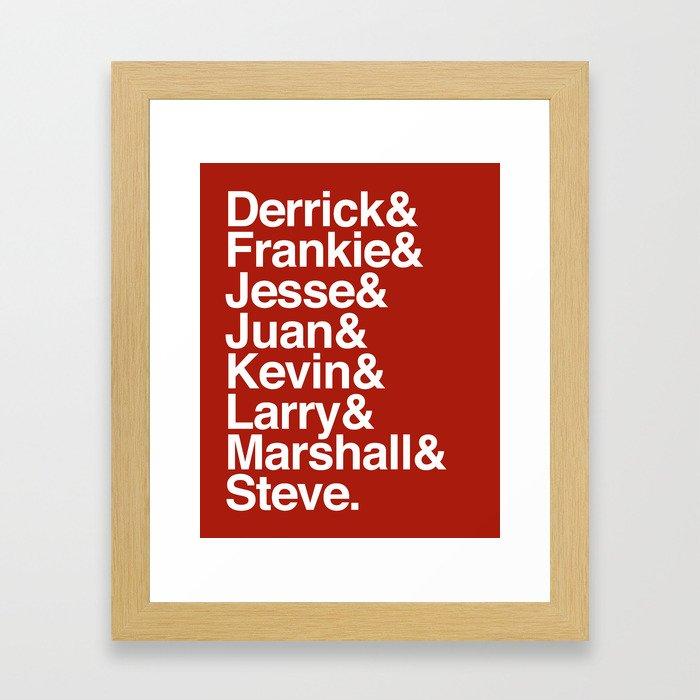 Pioneers Framed Art Print