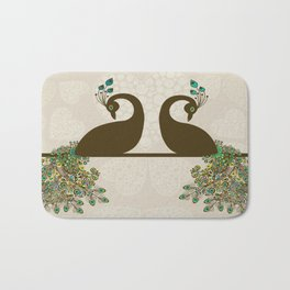 Art Peacock Bath Mat