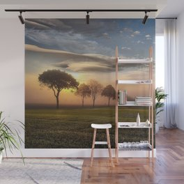 Big sky and clouds on a picture perfect night Wall Mural