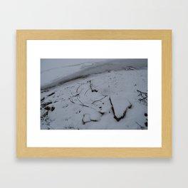 Snowed1 Framed Art Print