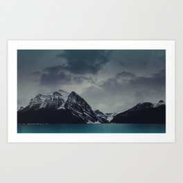 Lake Louise Winter Landscape Art Print