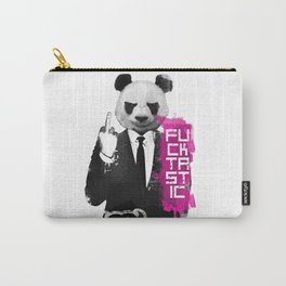 Angry Panda Carry-All Pouch