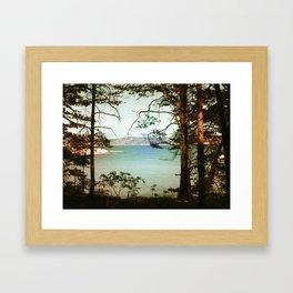 Søndre Sandøy One Framed Art Print