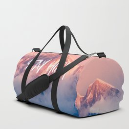 Stay Rocky Mountain High Duffle Bag