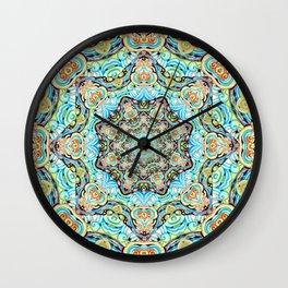 Mandala Tapestry Wall Clock