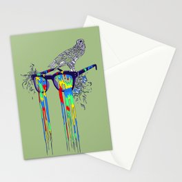 Technicolor Vision Stationery Cards