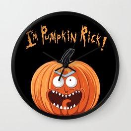 I'm pumpkin.. Wall Clock