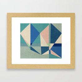 Kites Fighting Framed Art Print