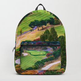 Autumn Golf Course Backpack