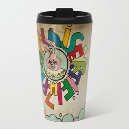 Bunny Obsession Again! Travel Mug