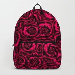Raspberry roses. Backpack
