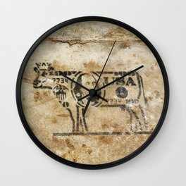 Cash Cow Wall Clock