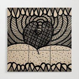 Say AHHH Wood Wall Art