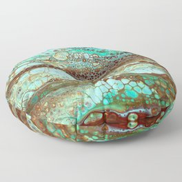 Abstract Annemarie Floor Pillow