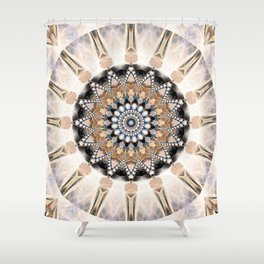 Mandala Purity Shower Curtain
