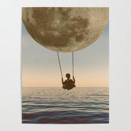 DREAM BIG/MOON CHILD SWING Poster