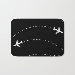 Traveling with Planes Bath Mat