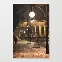berlin Canvas Prints featuring Berlin by Sébastien BOUVIER