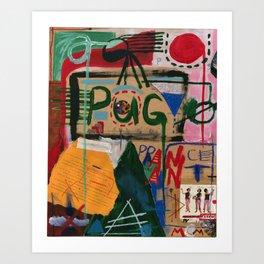 Pog Afterlife (Panel #1) Art Print