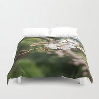 sakura Duvet Covers featuring sakura by artsimo