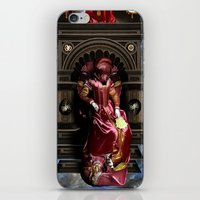 game of thrones iPhone & iPod Skins featuring THRONES by DIVIDUS