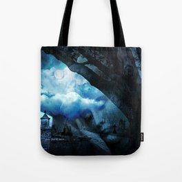 She Sleeps By Annie Zeno Tote Bag