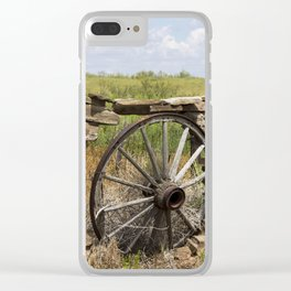Wagon Wheel Clear iPhone Case