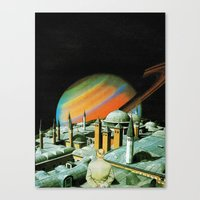 religion Canvas Prints featuring The religion  by Hugo Barros