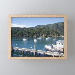Picton, NZ Framed Mini Art Print