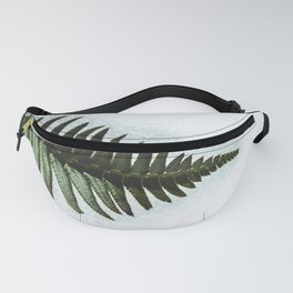 Winter Ferns Pacific Northwest - Nature Photography Fanny Pack