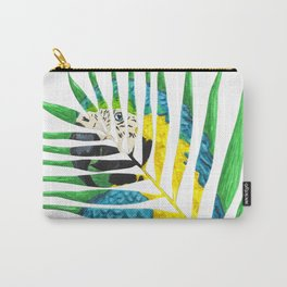 Parrot Palm Leaf Carry-All Pouch