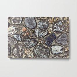 Stones in Japan Metal Print