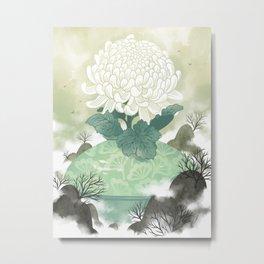 Celadon Metal Print
