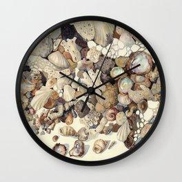 Sea Shore Eilat 2 Wall Clock