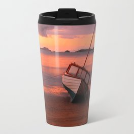 Beached yacht Travel Mug